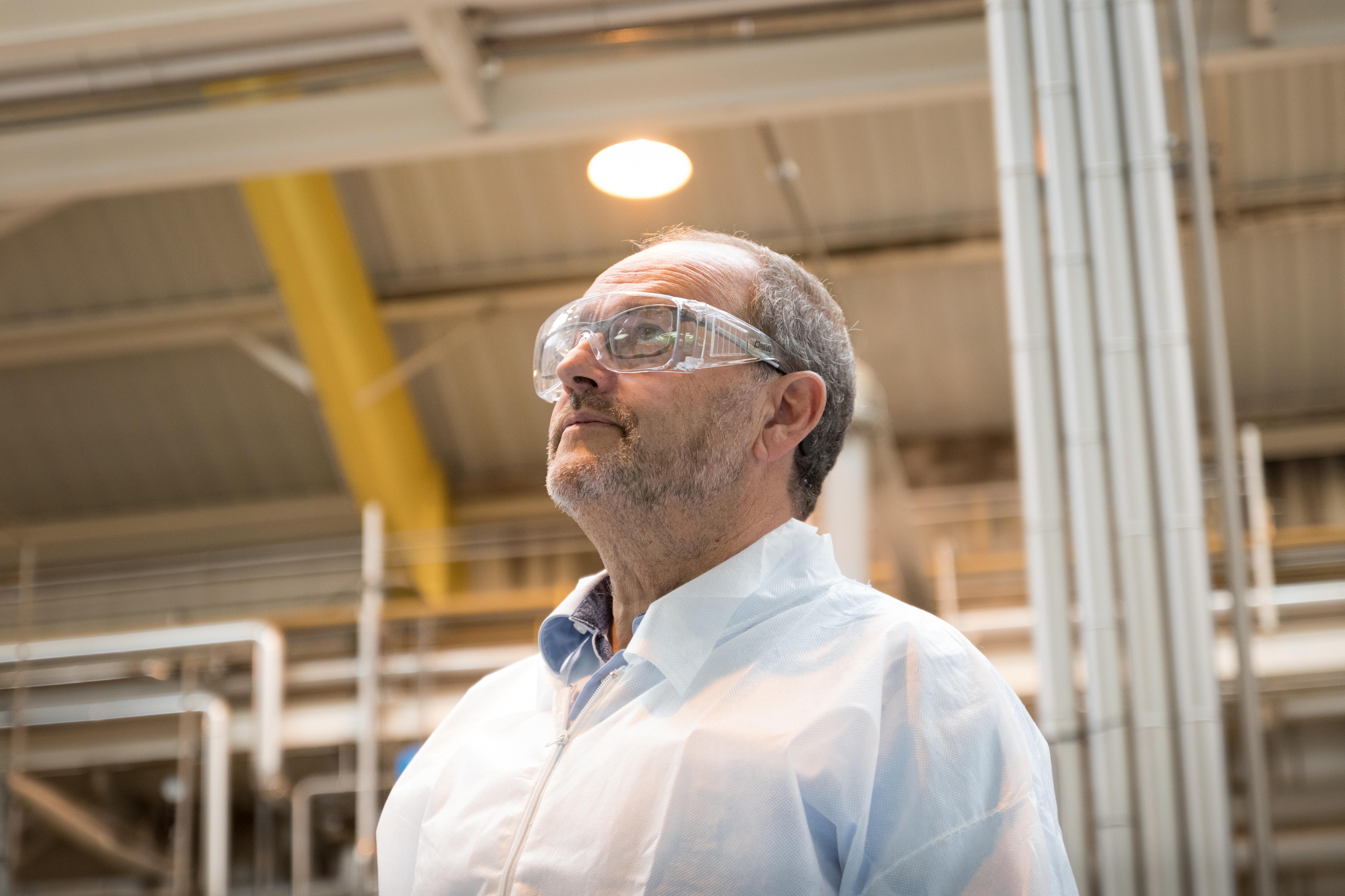 Thierry Stadler, directeur d'Extractis basé à Amiens