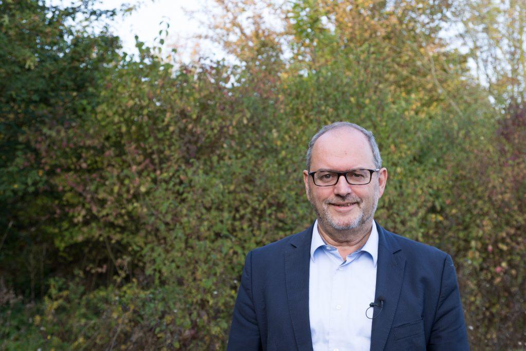 Thierry Stadler, directeur d'Extractis situé à Amiens