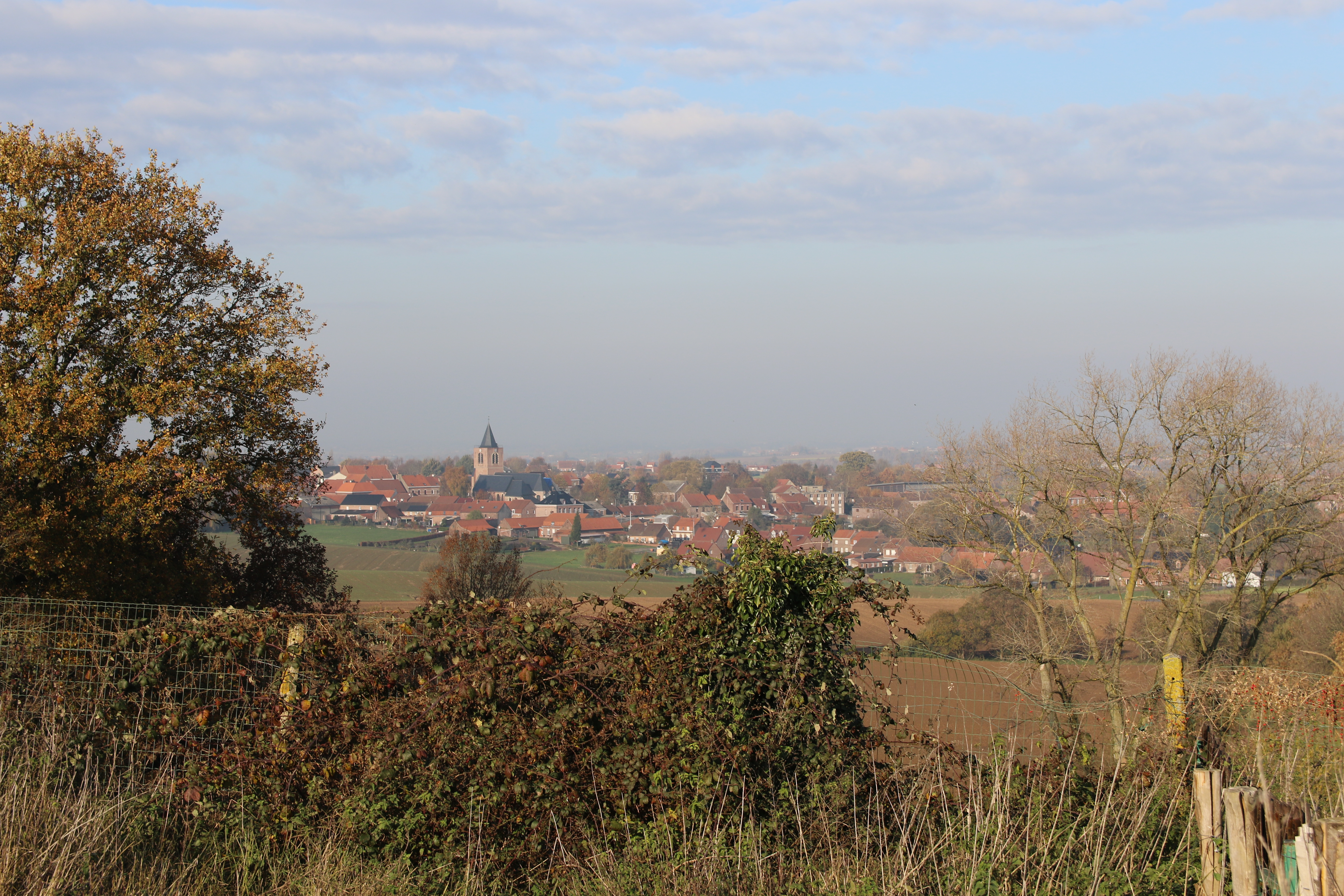 Vue panoramique sur les Flandres