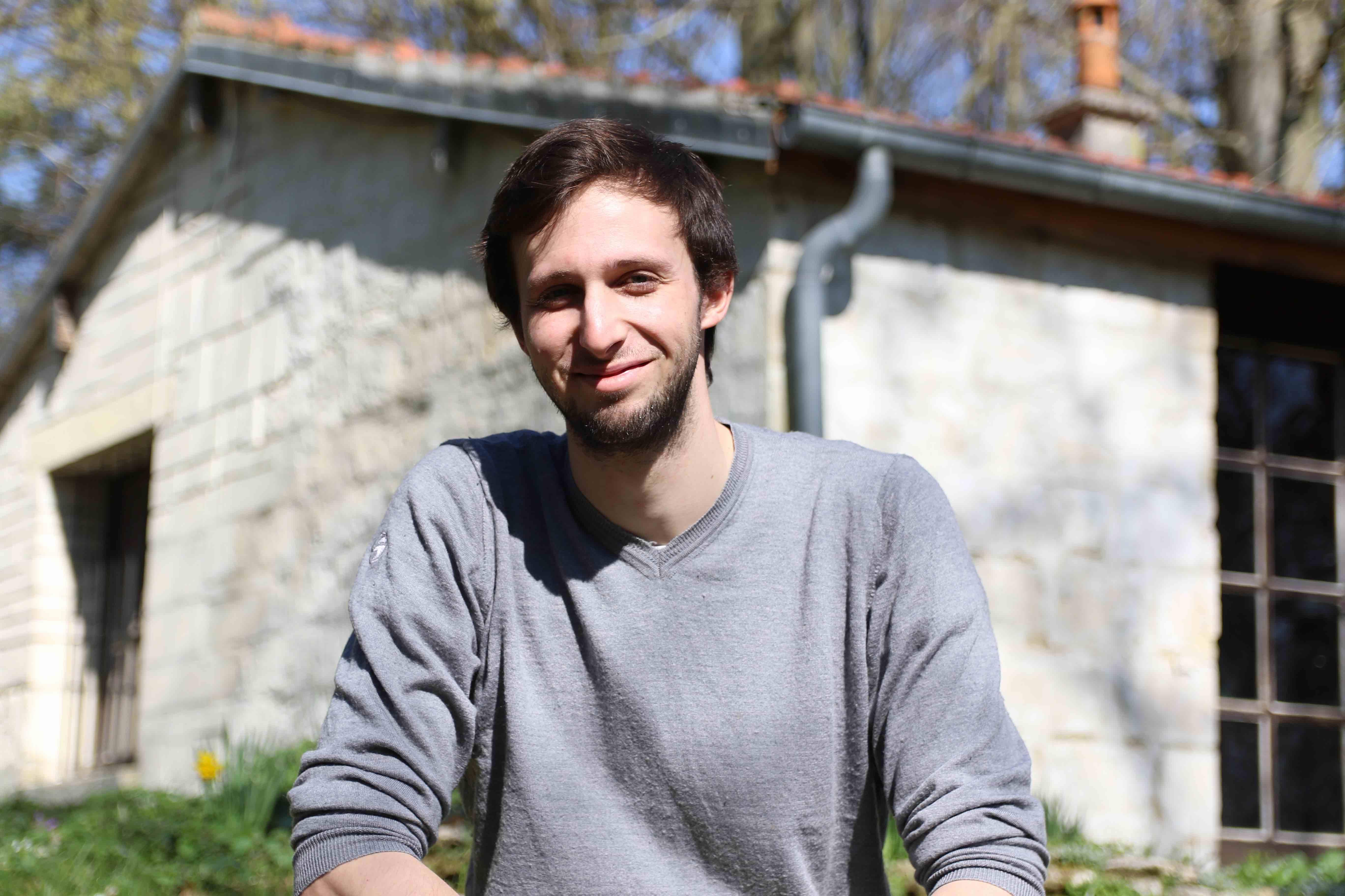 Mathieu Karinthi, l'un des fondateurs du projet Hermitage